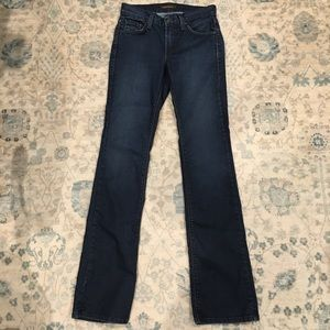 "James Jeans ""Hector"" dark wash boot cut Sz. 25 EUC"